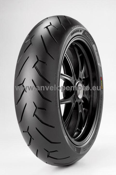 PROMO - Pirelli Diablo Rosso II  190/55 ZR 17 M/C (75W) TL Rear- DOT 1616